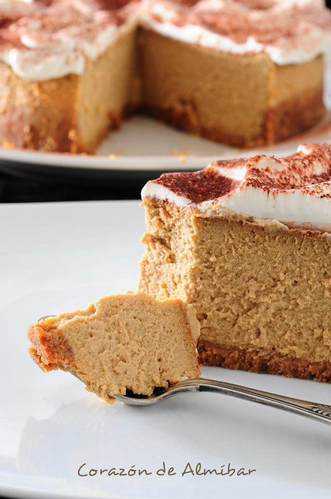 Una de las mejores tartas de queso que he probado....ah no! pero si eso lo digo siempre que hago una tarta de queso....jejej, es...