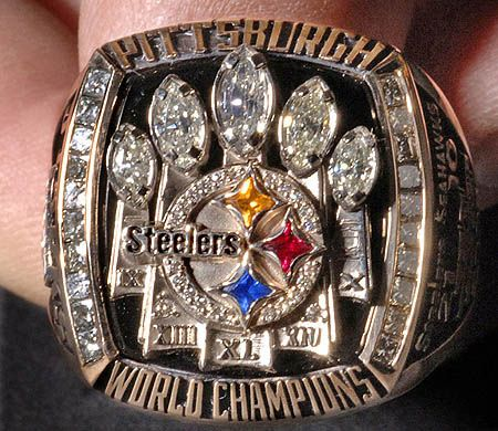 Steelers! Super bowl Ring!!! We Are 6 time Super Bowl Champions :))