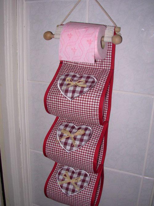 Tuto de porte rouleaux de papier toilette - Le blog de sabrina