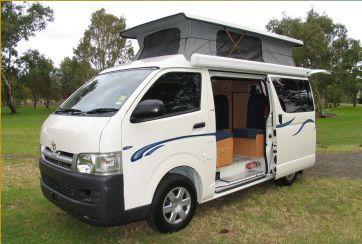 Model German Caravan For Hire At Moutere Caravans Set Up At Mapua Leisure