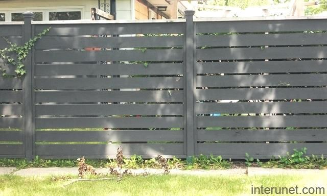 wooden fence slat wood fence horizontal wooden fence slats bq