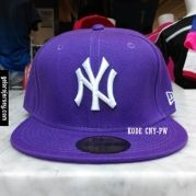New Era Cap – NY New York Yankees – Purple White  Visit our webstore to grab it!!  #newera #topi #caps #hats #baseball #mlb #skateboard #hiphop #bboy #dance #59fifty #fitted #snapback #losangeles #la #dodgers #gelorajersey