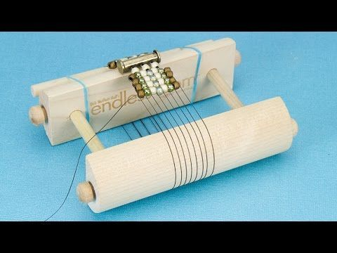 Make a Clasped Bracelet on the Endless Loom Mini Tutorial Video with Cheri Carlson