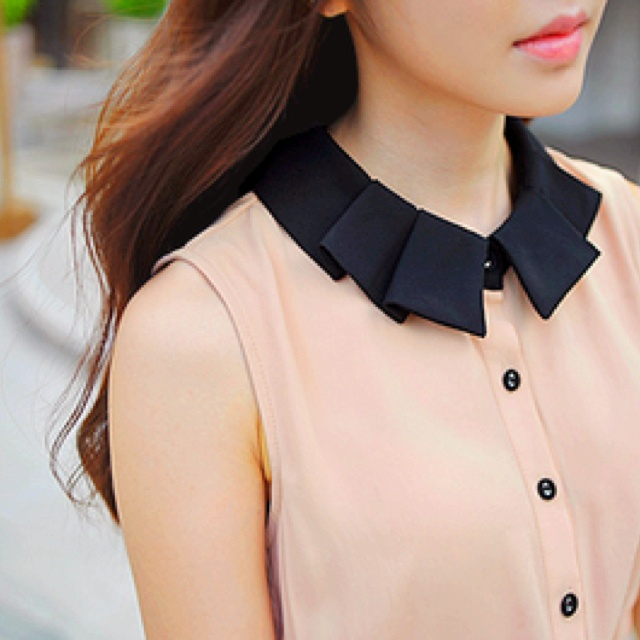 Cute Collared Blouses Breeze Clothing