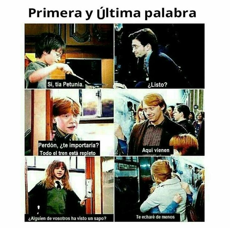 Primeras y últimas palabras de los actores de Harry Potter