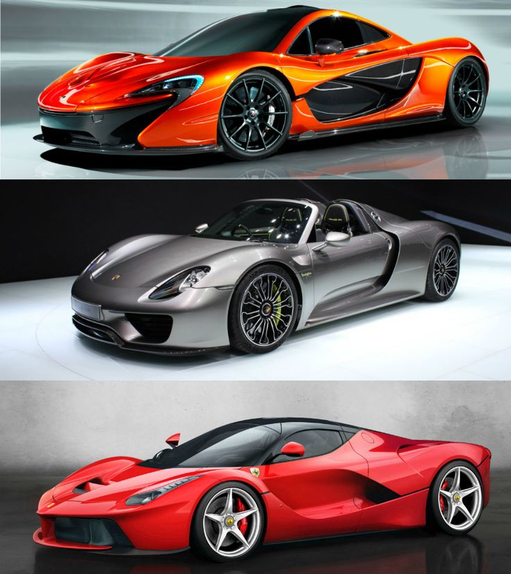 The New Hypercar Generation Mclaren Porsche Ferrari