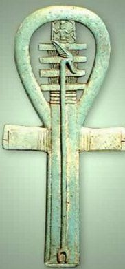 The ankh has its roots in ancient Egypt and is the symbol of life.