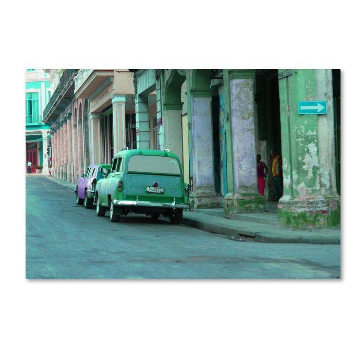 "22 in. x 32 in. ""Rio Verde Havana"" by Masters Fine Art Printed Canvas Wall Art"
