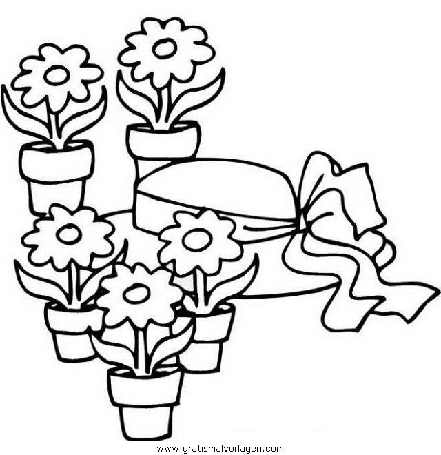12 besten Ausmalbilder Blumen Bilder auf Pinterest | Zeichnungen ...