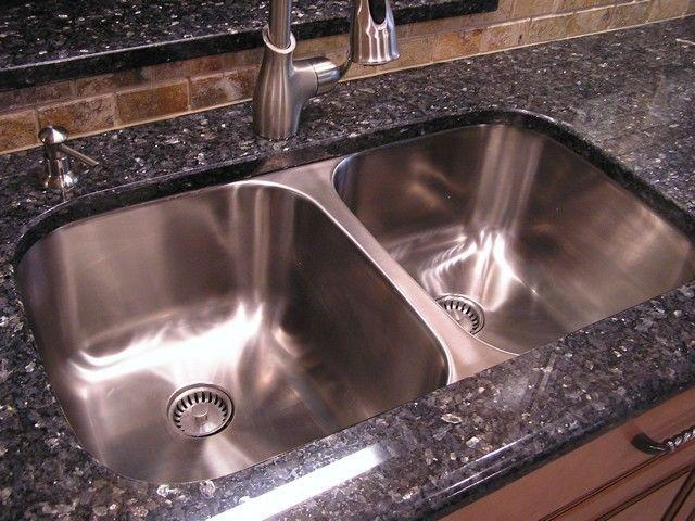 Lovely Stainless Steel Double Sink Undermount #15 - Classic Undermount Stainless Steel Double Bowl Kitchen Sink - Kitchen Sinks  - Cincinnati - By Create Good