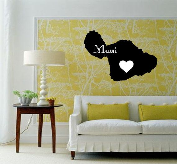 Best Wall Decals Images On Pinterest Hawaiian Islands All - Custom vinyl decals hawaii