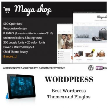 MayaShop Responsive eCommerce Theme