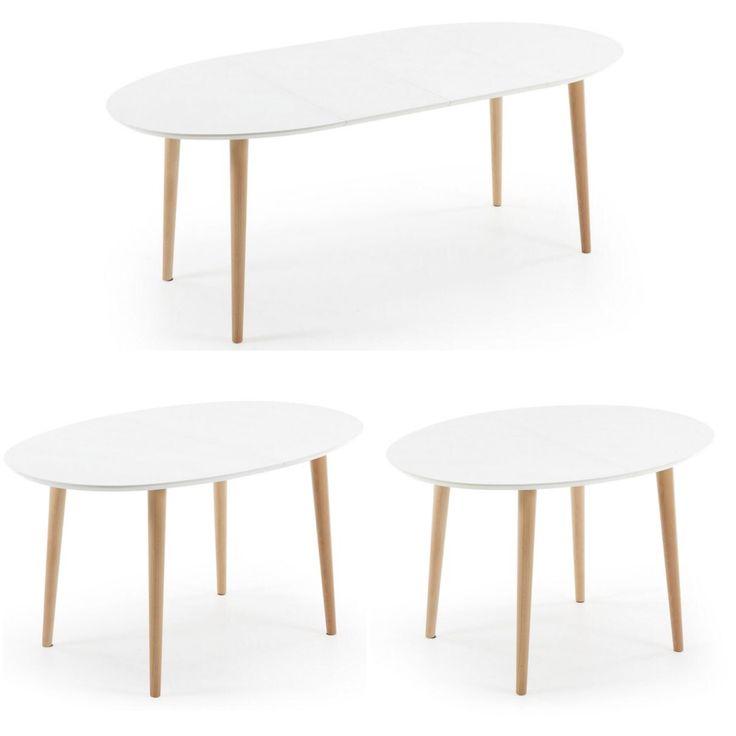 Spisebord med ileggsplater kolleksjon OAKLAND www.mirame.no #bord #spisebord #norskehjem #norsk #nordiskehjem #interior #interiør #interiordesign #interiordesign #nordiskdesign #nettbutikk #mirame #innredning #ileggsplater #klaffer #oakland #hvit #tre #solid #salg #tilbud #pris #bestselger #oakland