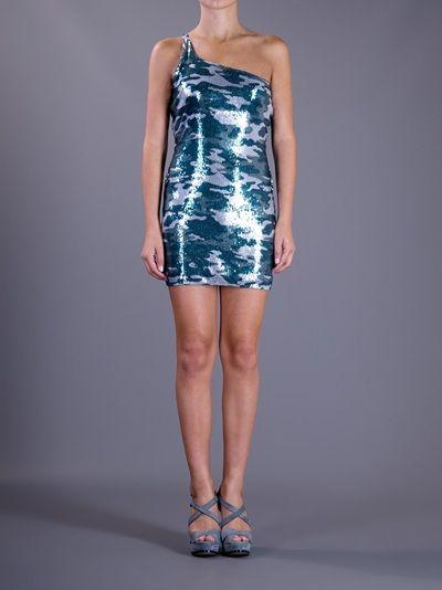 BALMAIN - Sequin Embellished Dress