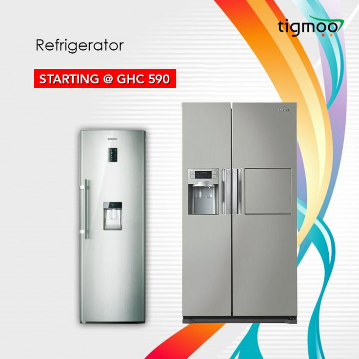Available #Refrigerator online from #Tigmoo Ghana You can check out the price details here: https://www.tigmoo.com.gh/home-appliances/refrigerator.html Get the free delivery to your doorstep on order this #KitchenAppliances, #freeshipping