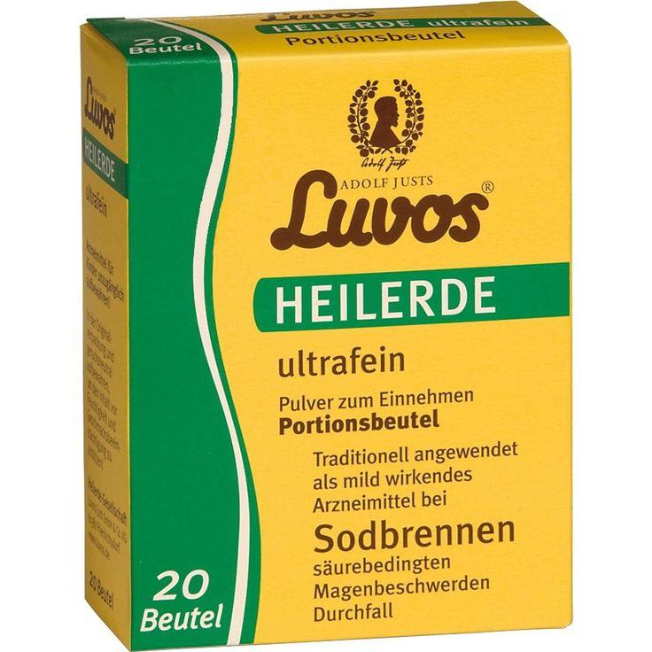 LUVOS Heilerde ultrafein Portionsbeutel:   Packungsinhalt: 20X6.5 g Pulver PZN: 05986862 Hersteller: Heilerde-Gesellschaft LUVOS JUST…