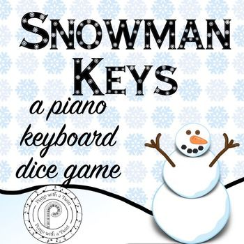 free this fun winter musical dice game reviews the piano. Black Bedroom Furniture Sets. Home Design Ideas