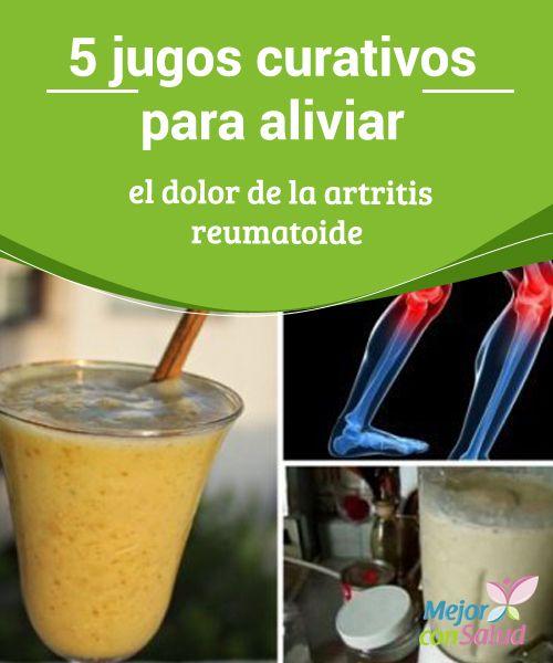 5 jugos curativos para aliviar el dolor de la artritis reumatoide  La artritis reumatoide es una enfermedad crónica que se produce por la inflamación de las articulaciones y sus tejidos circundantes.