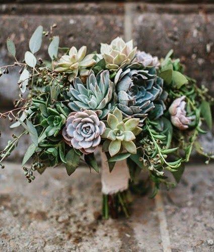 Succulent Bouquet | JL Designs http://www.jldesignsandevents.com