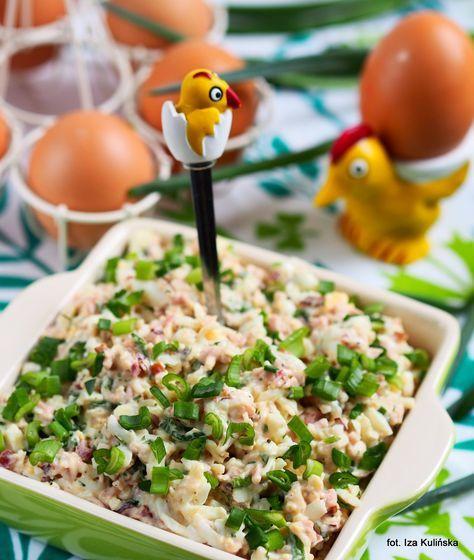 Smaczna Pyza: Do chleba - pasta z jajek i szynki