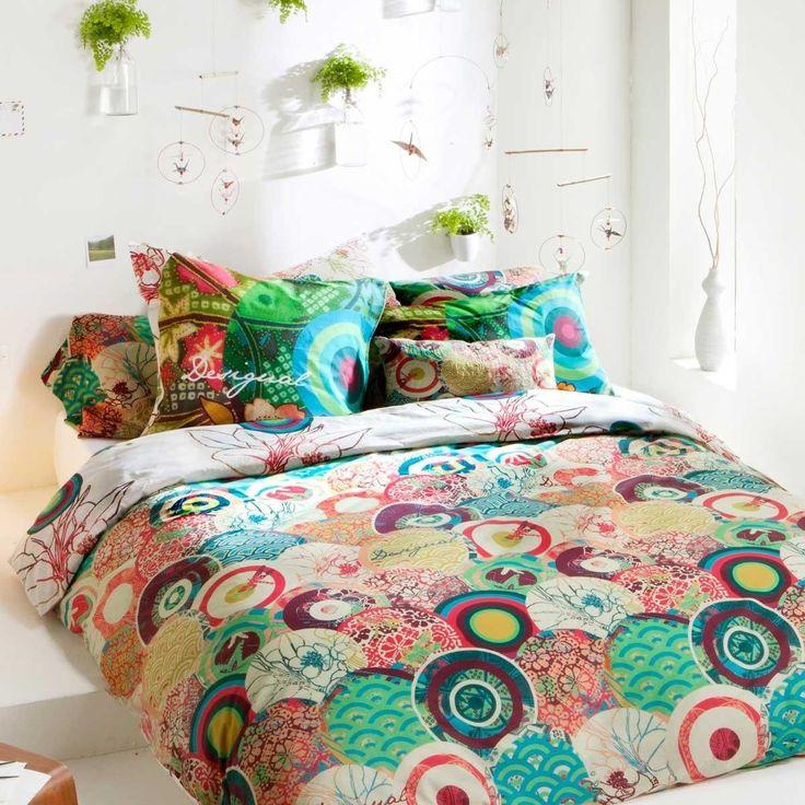 34 best desigual bedding images on pinterest bedding comforters and duvet covers - Housse de couette all black ...