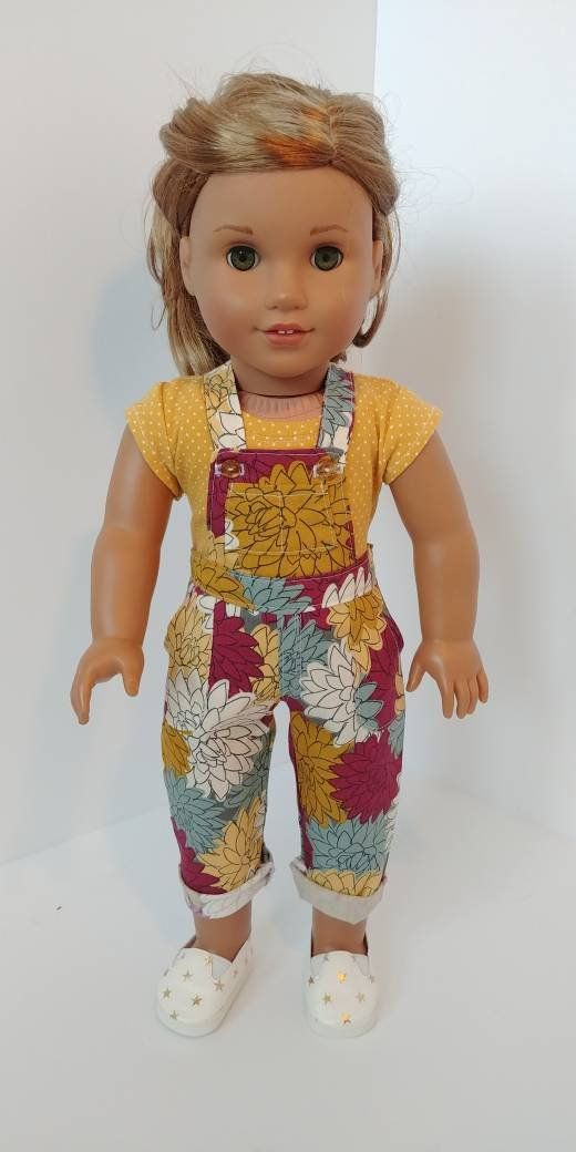 Overalls. 18 inch doll clothes. Fits like American girl doll ...