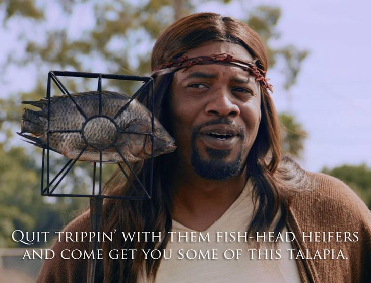 Black Jesus Quotes Unique Black Jesus Quit Trippin Get Some Talapia  Black Jesus