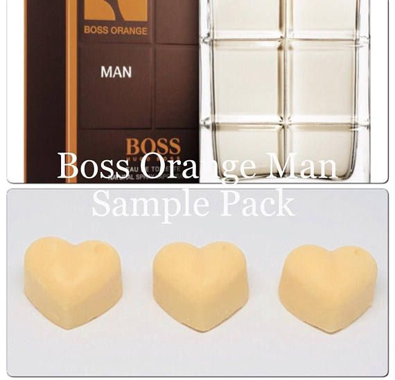Sample Boss orange hugo boss aftershave wax melts designer