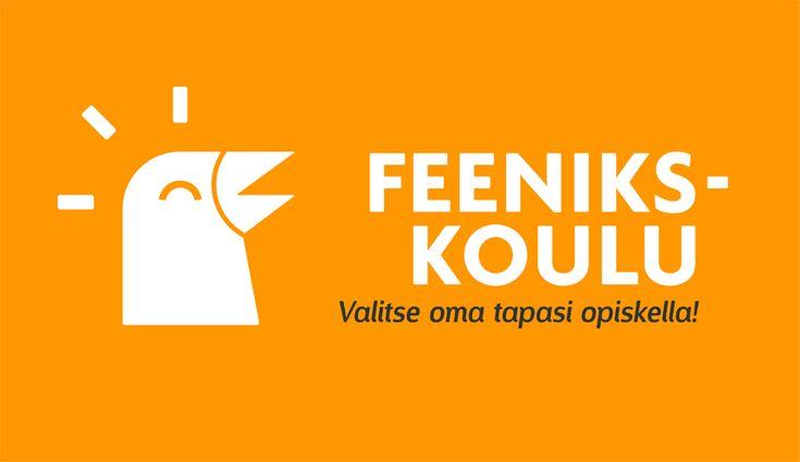 Logosuunnittelu, logo, yritysilme. Feeniks-koulu - Logosuunnittelu Ilkka Janatuinen