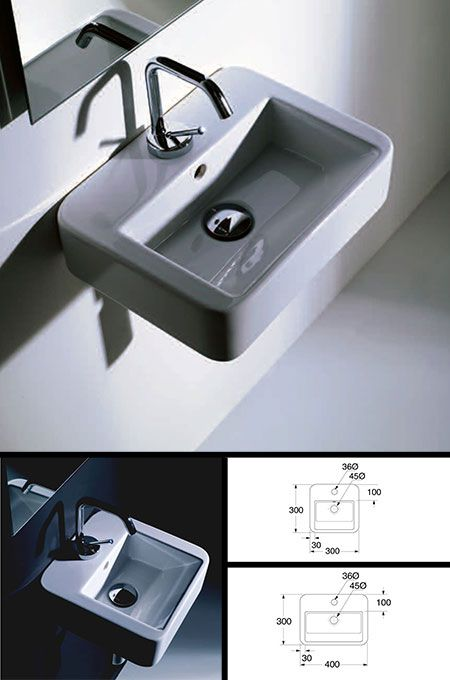 Super Small Cloakroom Sink (20H)
