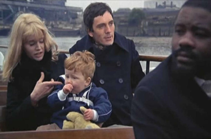 Terrence Stamp and Carol White in Poor Cow