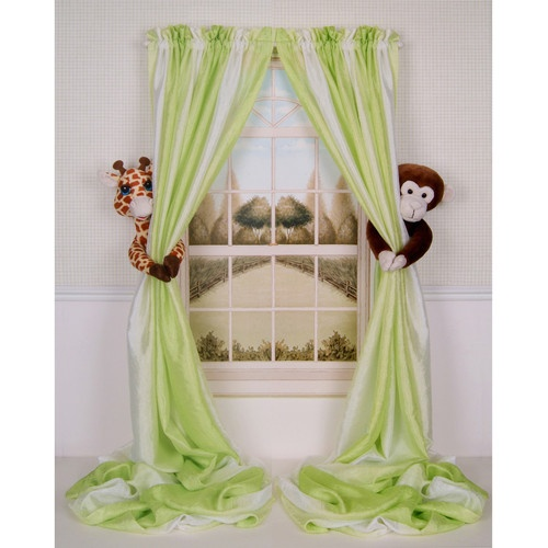Baby Nursery Curtains Pink Curtains Kids Curtains Pair: 25+ Best Ideas About Boys Jungle Bedroom On Pinterest