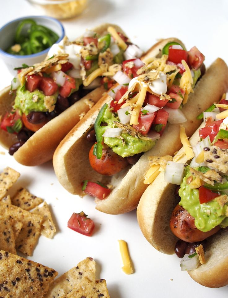 How do you make a hot dog way better? Make it a nacho dog!