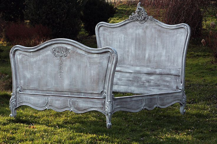Bed from France -shabby chic more www.empire-antyki.com