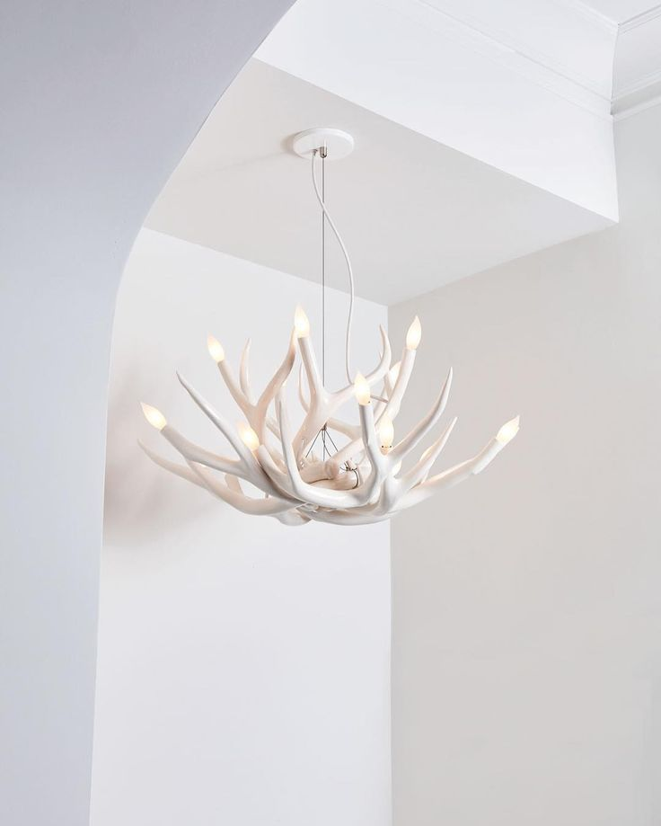 Superordinate antlers 36 pinterest superordinate antler chandelier 10 antlers white interior roll hill showroom mozeypictures Image collections