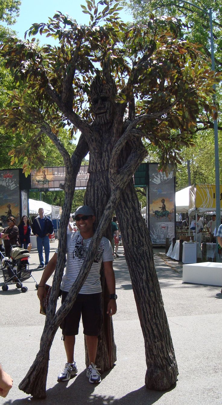 Scary stilt costume - photo#8