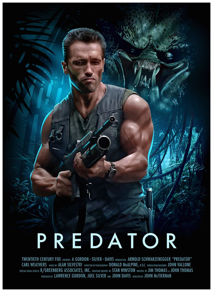 Predator poster by Brian Taylor.