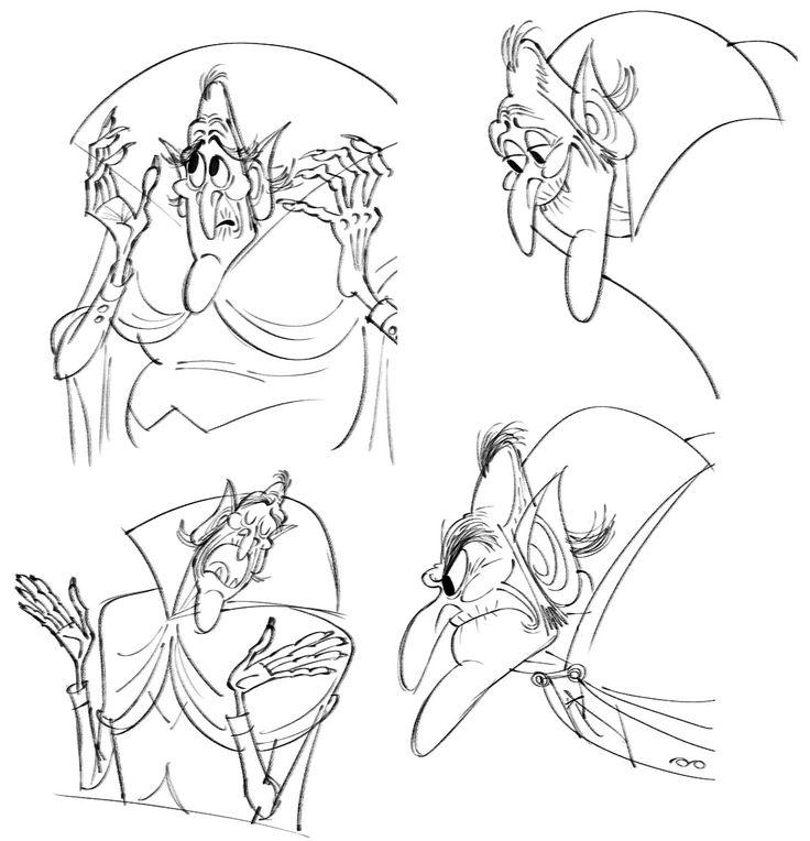 Designing Vlad and Bela: In-Depth With 'Hotel Transylvania 2' Production Designer Michael Kurinsky | Cartoon Brew