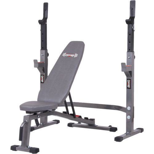 Body Champ Pro3900 Olympic Weight Bench Set   Fitness Equipment, Weight  Benches At Academy Sports
