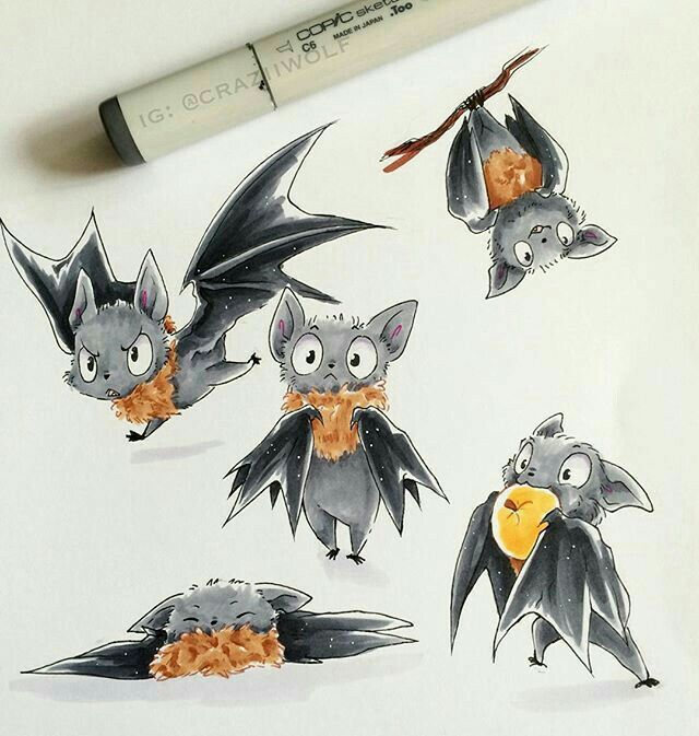 Pin By Crystal Baxter On Bats Vampire Bat Art Bat Sketch Art