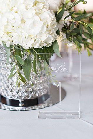 A professional florist's glamorous white peony filled wedding