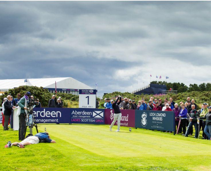 Karrie Webb of Australia during the final round Ladies European Tour 2017: Aberdeen Asset Management Ladies Scottish Open. Dundonald Links Ayrshire. Scotland 27-30 July 2017. Credit: Tristan Jones. @LETGolf