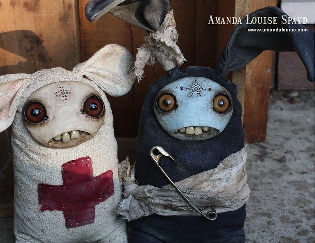 Lending a hand by Amanda Louise Spayd