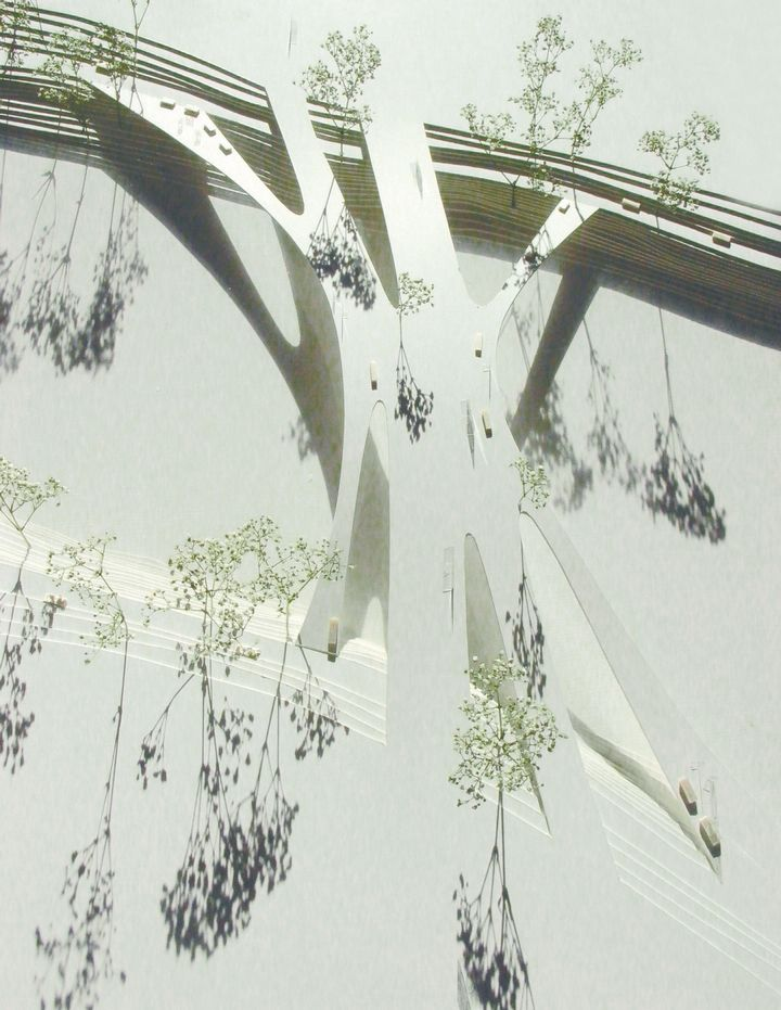 Architectural Model - Salto Architects, Vehicle Bridge in Tartu