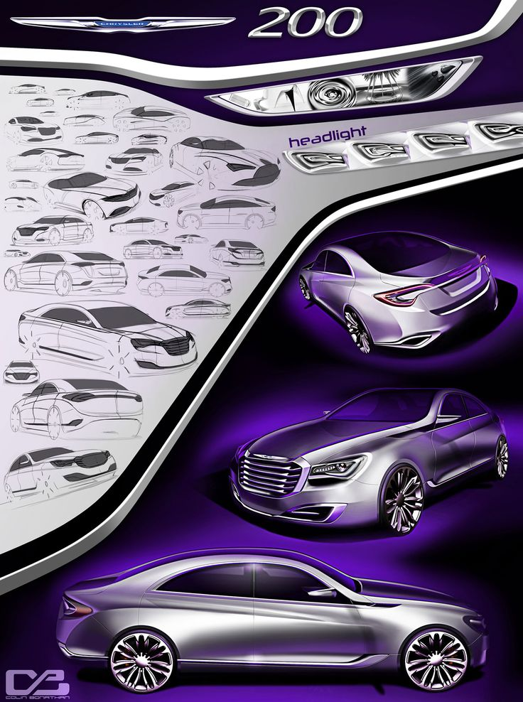 Chrysler 200 Concept by Colin Bonathan