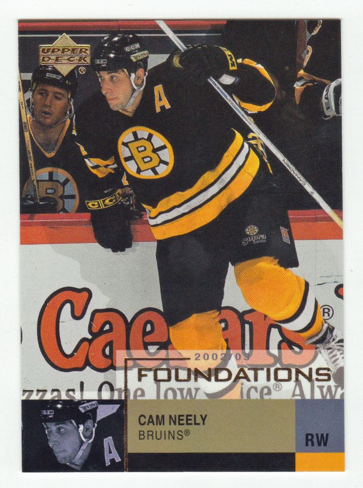 Cam Neely # 3 - 2002-03 Upper Deck Foundations Hockey