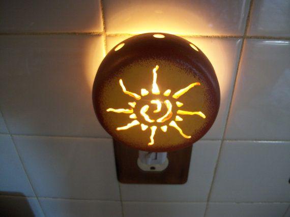 Ancient Native Sunburst Night Light by JCsCreativeArt on Etsy,