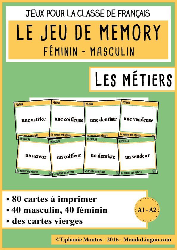 ME - Métiers | Mondolinguo - Français