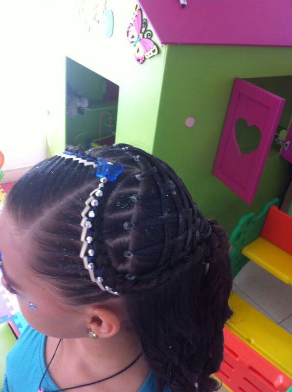 Peinado tejido
