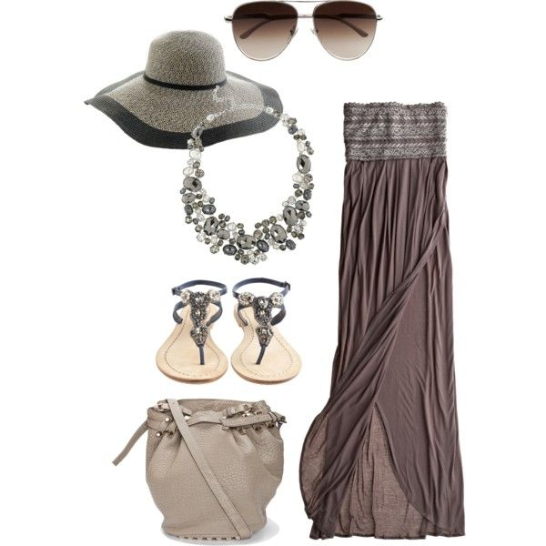 Subdued summer elegance - wish I had the body to wear this!
